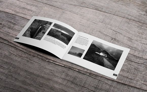 Minimal  Photography Portfolio Book By Macrochromatic On Creative