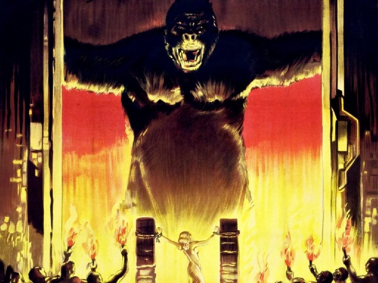King Kong 1933 Wallpapers Hd King Kong 1933 King Kong Kong