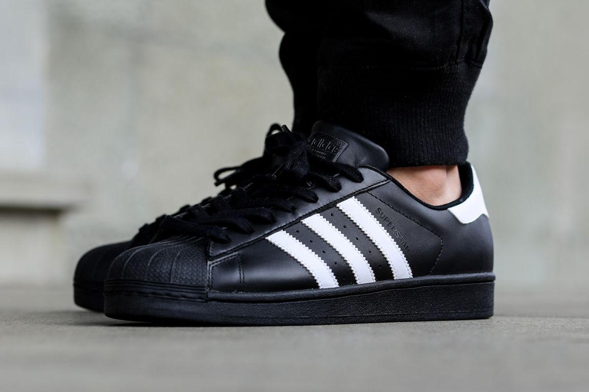 Adidas Superstar Black Black