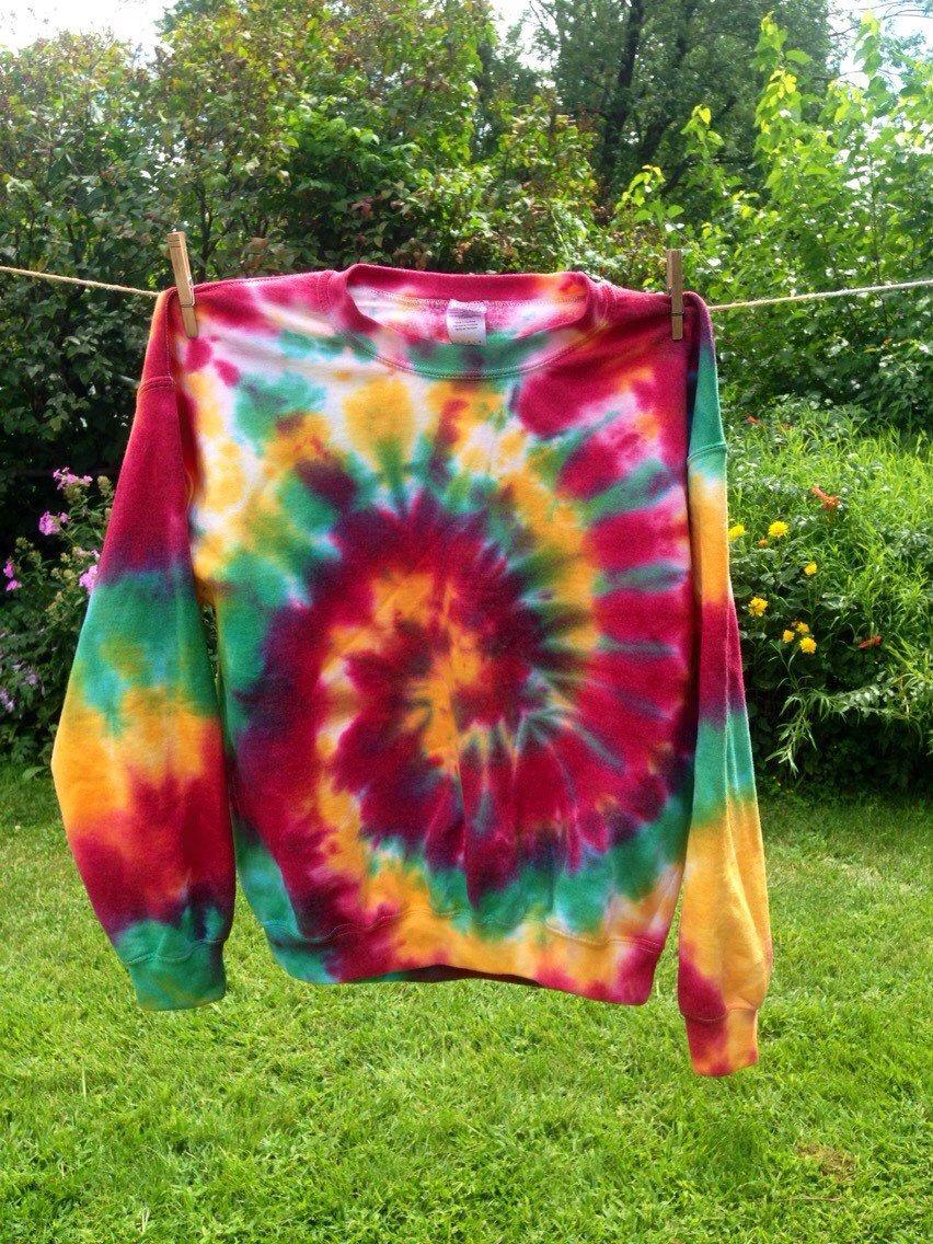 Rasta Tie Dye Sweatshirt Custom Made Tie Dye Sweatshirt Rasta Crewneck Tie Dye Sweatshirt Tie Dye Outfits Diy Tie Dye Shirts Tie Dye Shirts [ 1136 x 852 Pixel ]