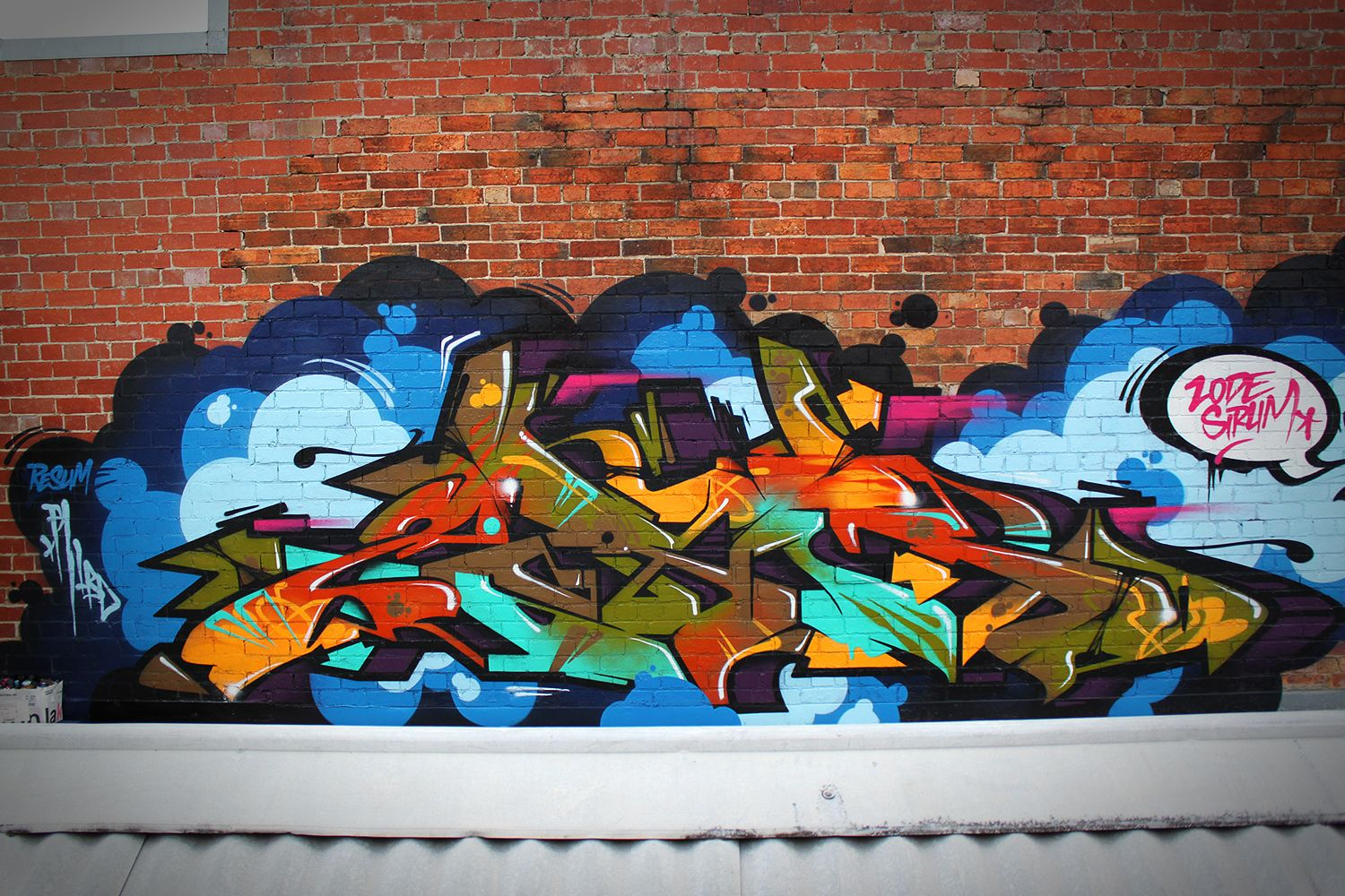 Bien-aimé sirum_graffiti-wall-art_68 | Street Art | Pinterest | Graffiti  BV69
