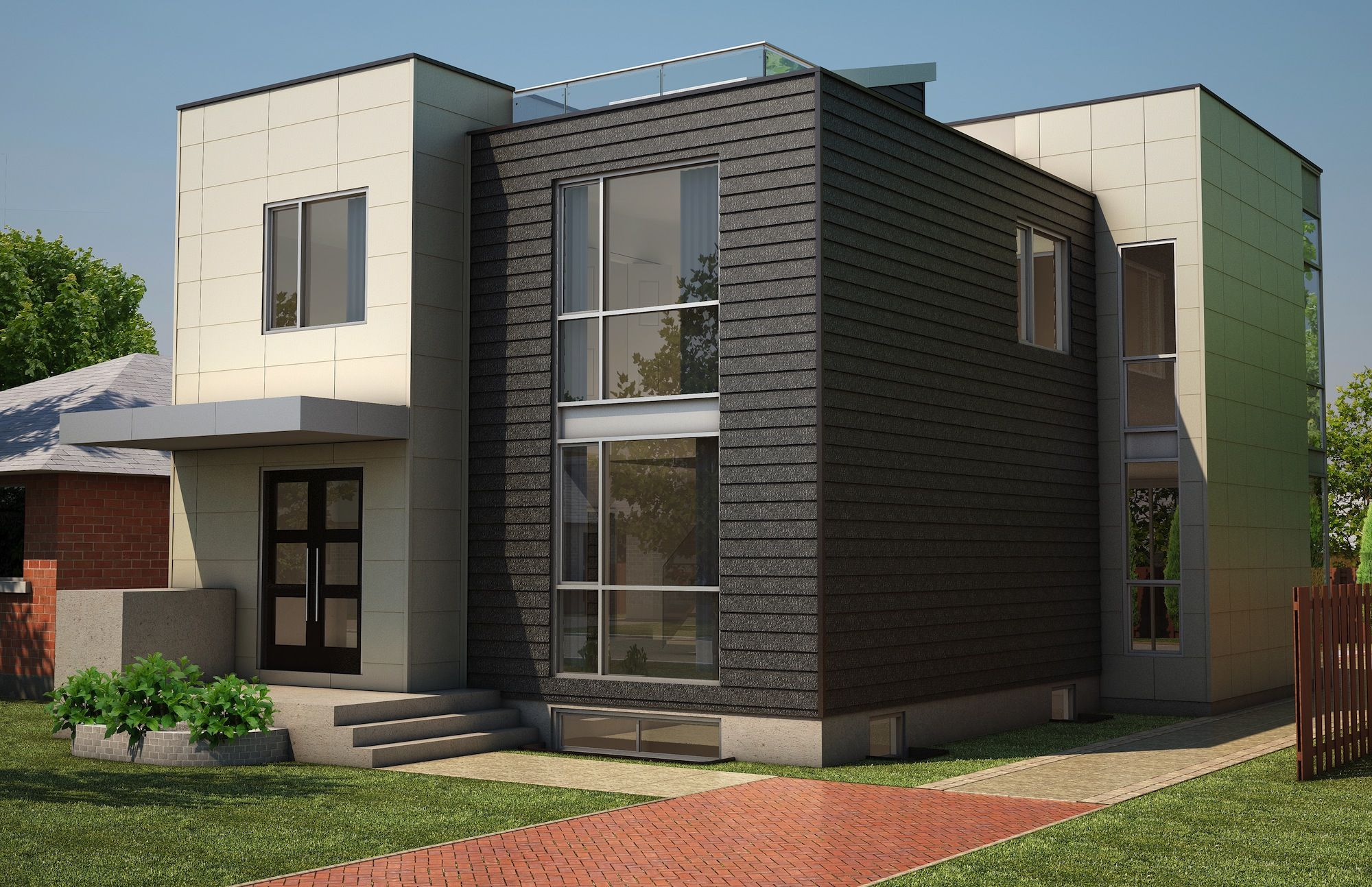 Exterior House Finishes 552 Rowanwood Mckellar Park Topp New Home Pinterest