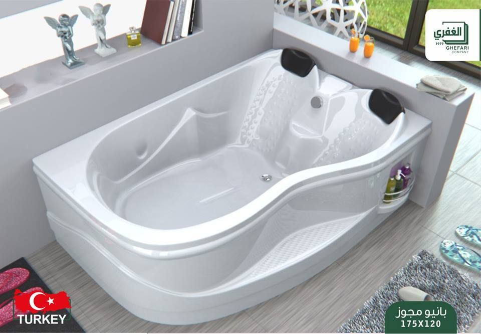 Pin By شركة الغفري للاستيراد والتسويق On أدوات صحية وأطقم حمامات Bathtub Bathroom