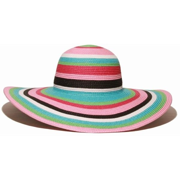 Straw Beach Hat Pink Striped Beach Vacation Hat Solescapes Com