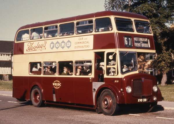 Wbudc West Bridgford District Council Buses Were The Buses I Remember Riding On As A