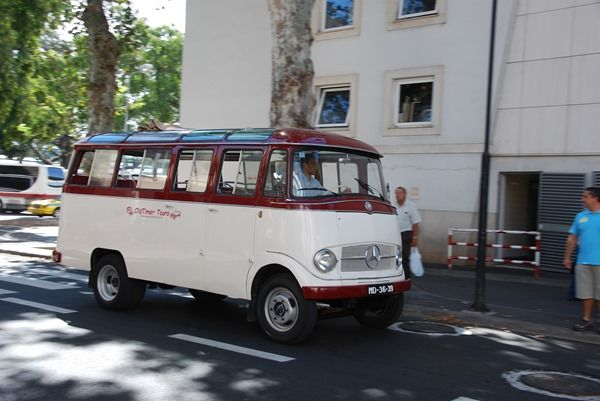 07 Mercedes Oldtimer Bus Funchal Madeira Car S Passion Oldtimers
