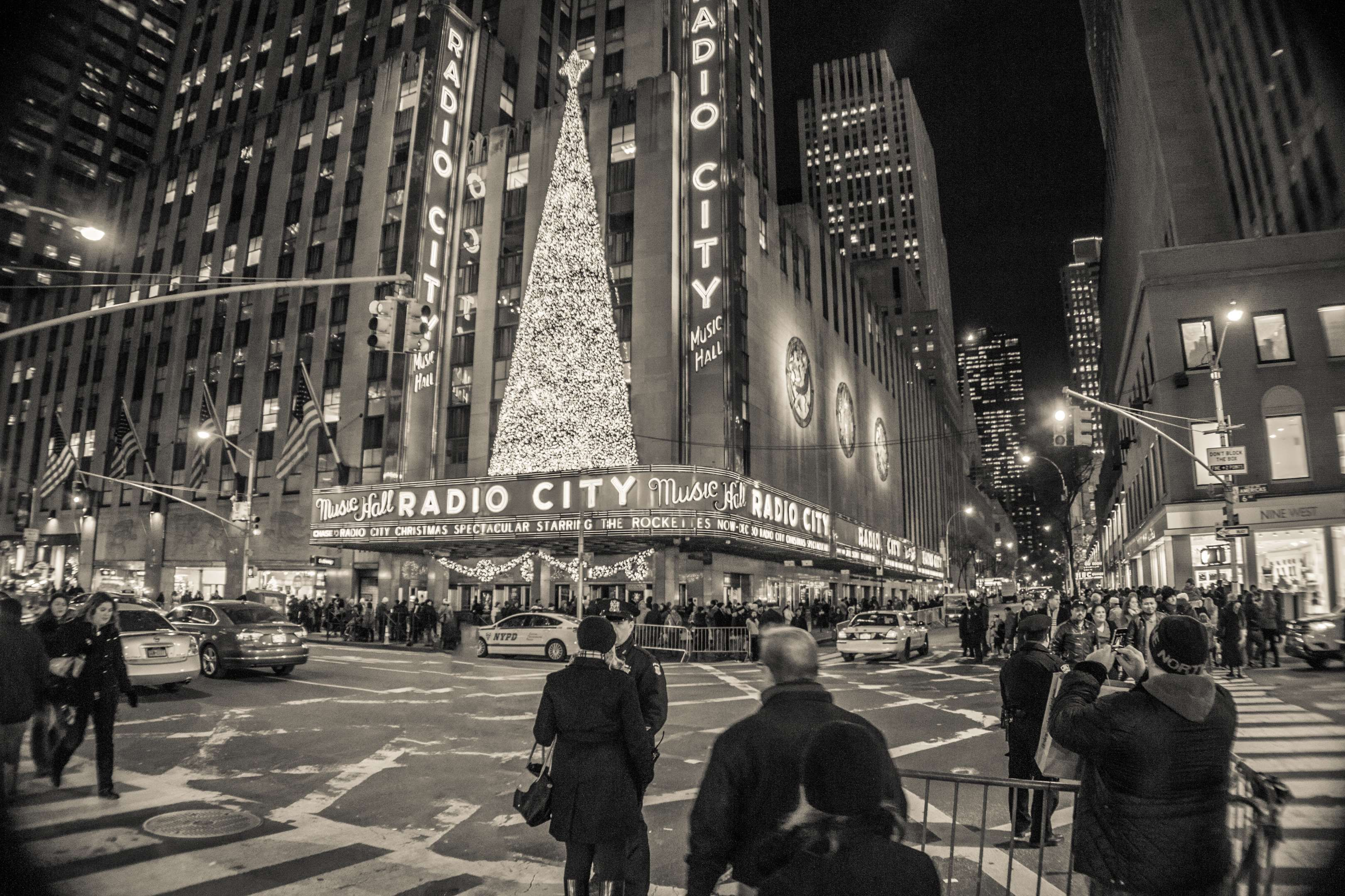 Radio City Music Hall At Night Nyc New York City Poster By Jkwartwork New York Night City Aesthetic New York Life