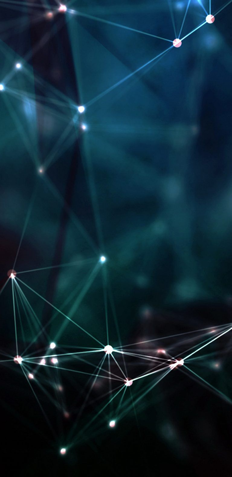 3D Dark Background with Lights for Samsung Galaxy S9 Wallpaper