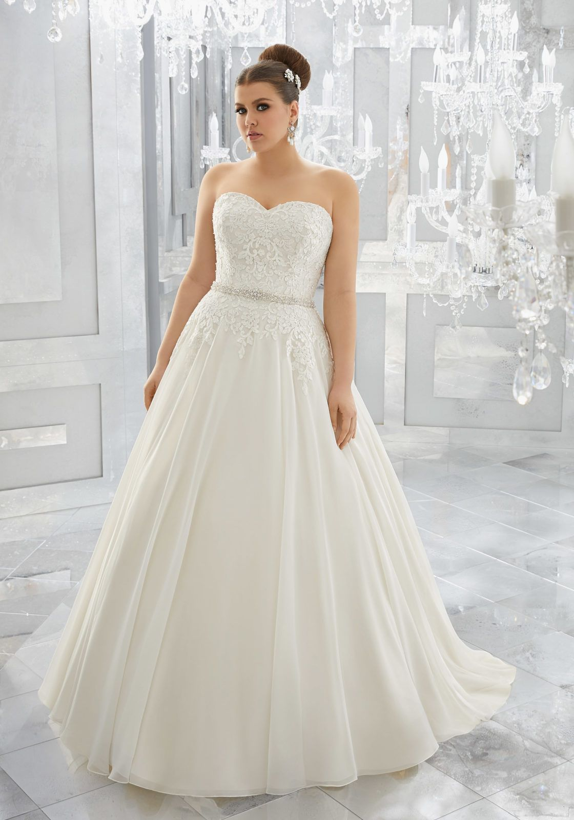 FASHION FRIDAY PLUS SIZE WEDDING DRESS COLLECTION MORI