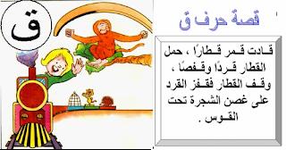 بطاقات قصص الحروف موقع الصف الاول ج Arabic Alphabet For Kids School Art Activities Arabic Kids