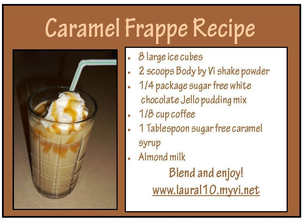 Caramel Frappe Shake Recipe Frappe Recipe Shake Recipes Caramel Frappe Recipe