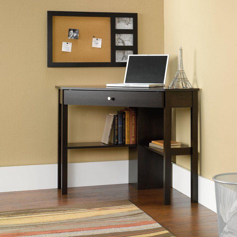 Stansel Corner Desk Diy Corner Desk Corner Writing Desk Corner Computer Desk