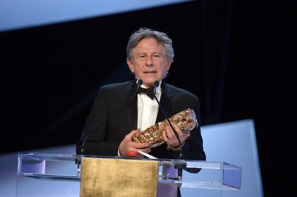 Arrivals at the Cesar Film Awards In This Photo: Roman Polanski Roman Polanski receives the Best Director award for 'Venus in Fur' on stage during the 39th Cesar Film Awards 2014 at Theatre du Chatelet on February 28, 2014 in Paris, France.