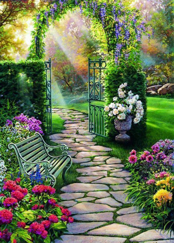 122 Bilder zur Gartengestaltung - stilvolle Gartenideen für Sie - paisaje jardin