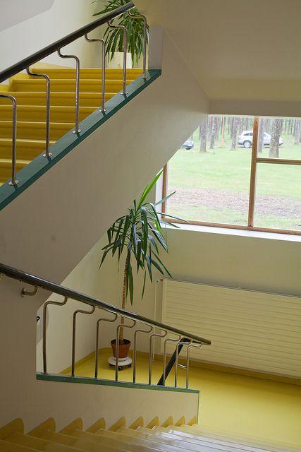 Best Paimio Sanatorium 4 Staircase Design Interior 400 x 300