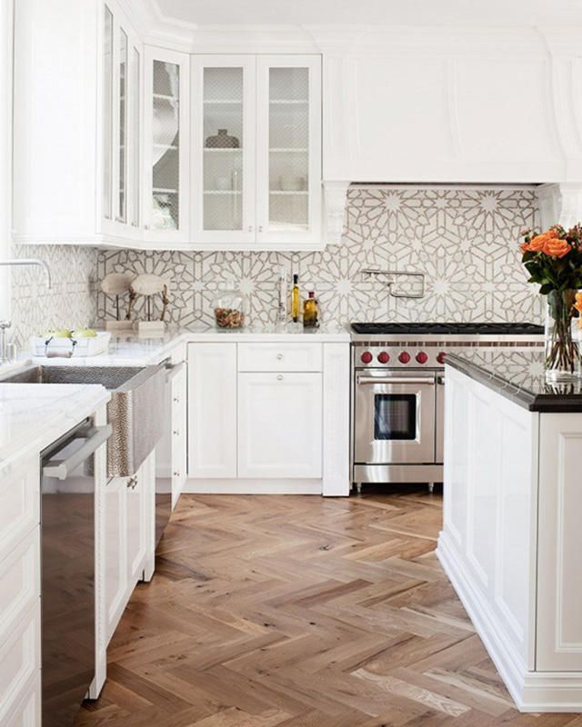 13 Chic Backsplash Ideas Beautiful Kitchens Kitchen Remodel
