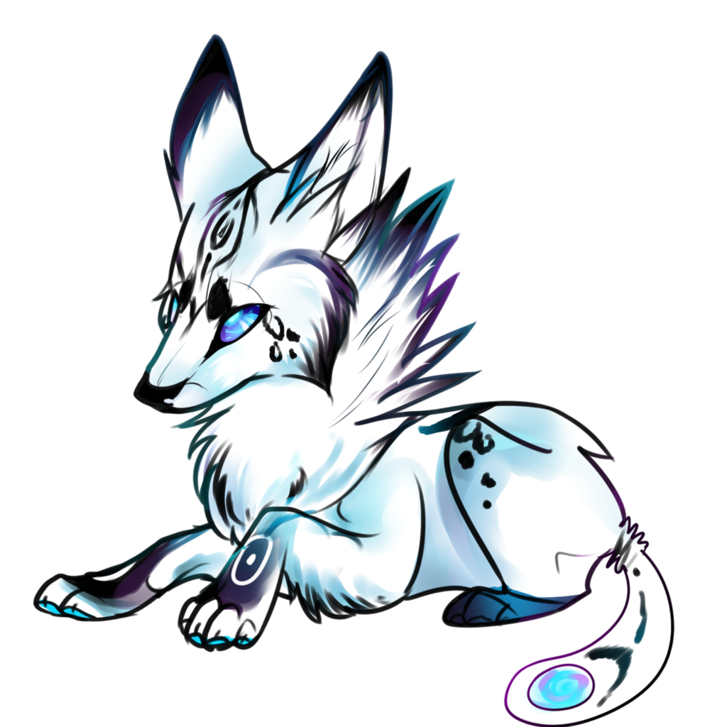 Baby Galaxy Wolf Auction In Payment By Butt Adopts Deviantart Com