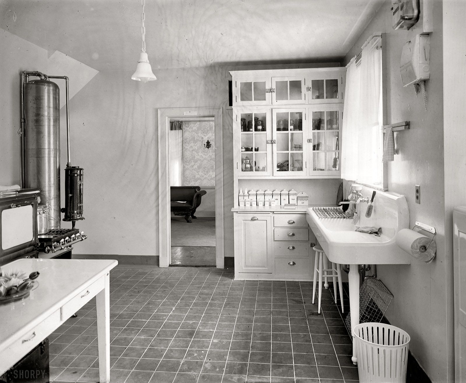 smart ways to outfit the kitchen (1910 | inset cabinets, 1920s