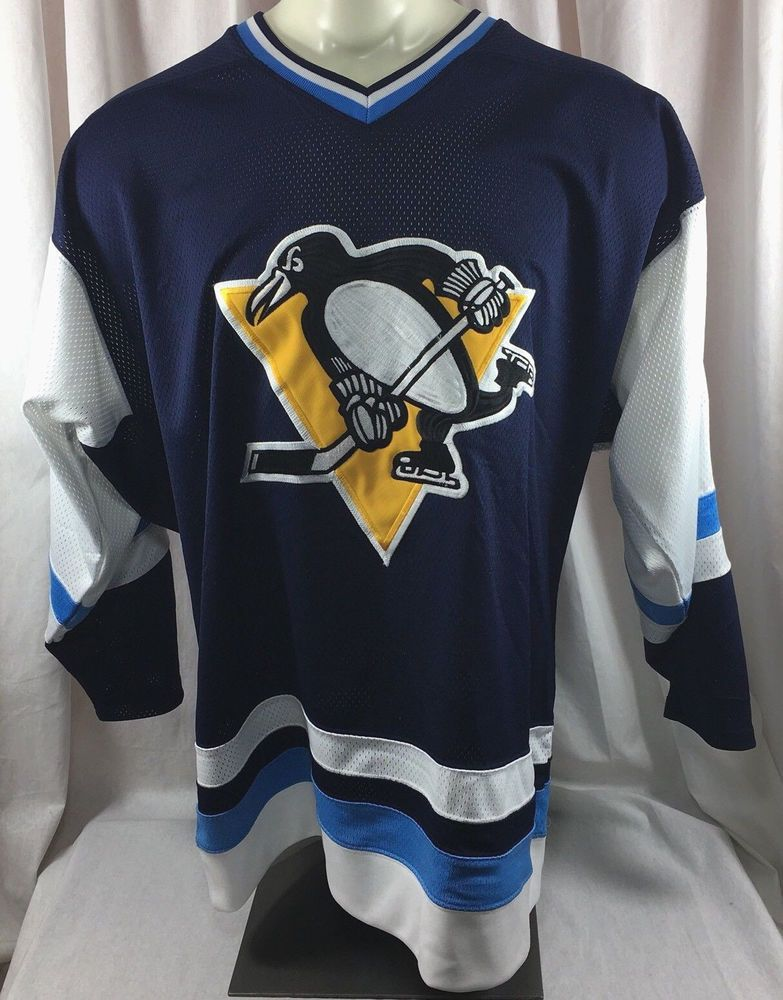 multiple colors 1c136 7eede Mitchell & Ness Pittsburgh Penguins NHL Vtg Hockey Jersey ...