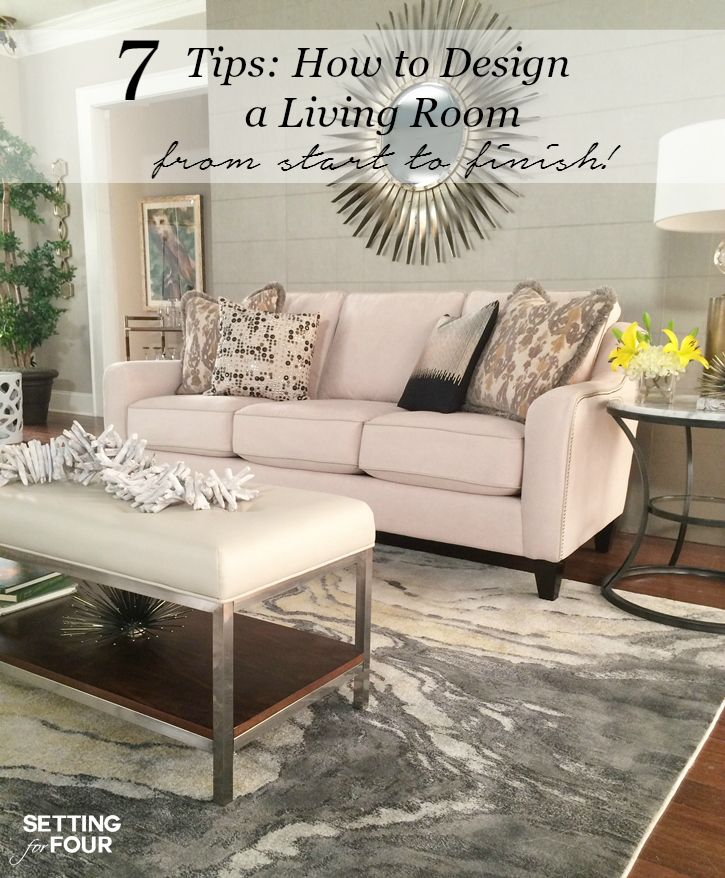 Living Room Design Ideas And $10,000 Giveaway | Simple ...