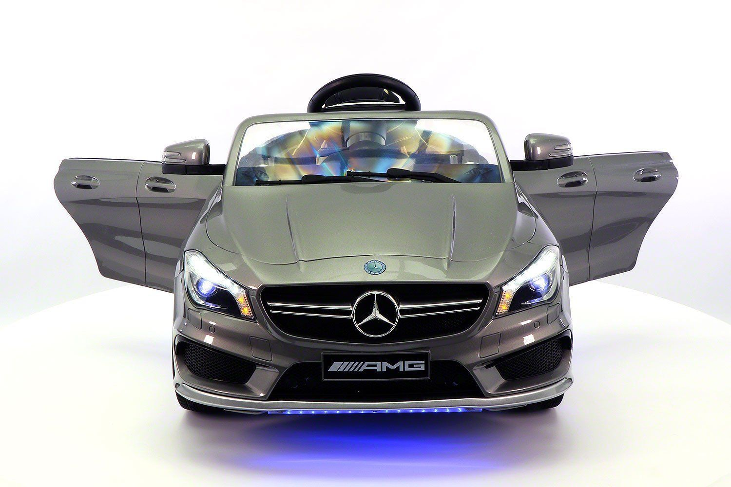 Toys cars for kids  Mercedes CLA V Kids RideOn Car with RC Parental Remote  Gray