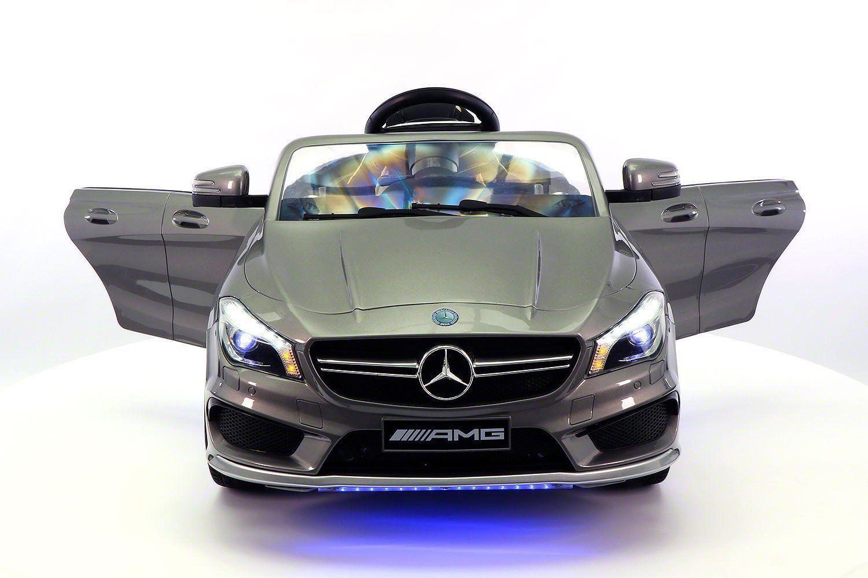 Toys car kids  Mercedes CLA V Kids RideOn Car with RC Parental Remote  Gray