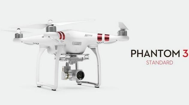 DJI Phanton 3 Standard - przystępniejsza wersja cenionego drona