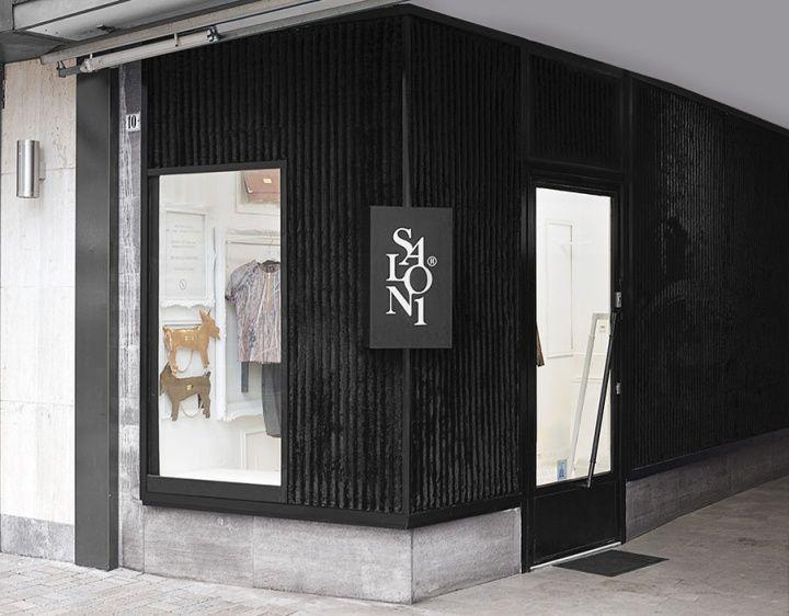 Salon1 interior & branding | Kiss Miklós, Bielefeld Germany store ...