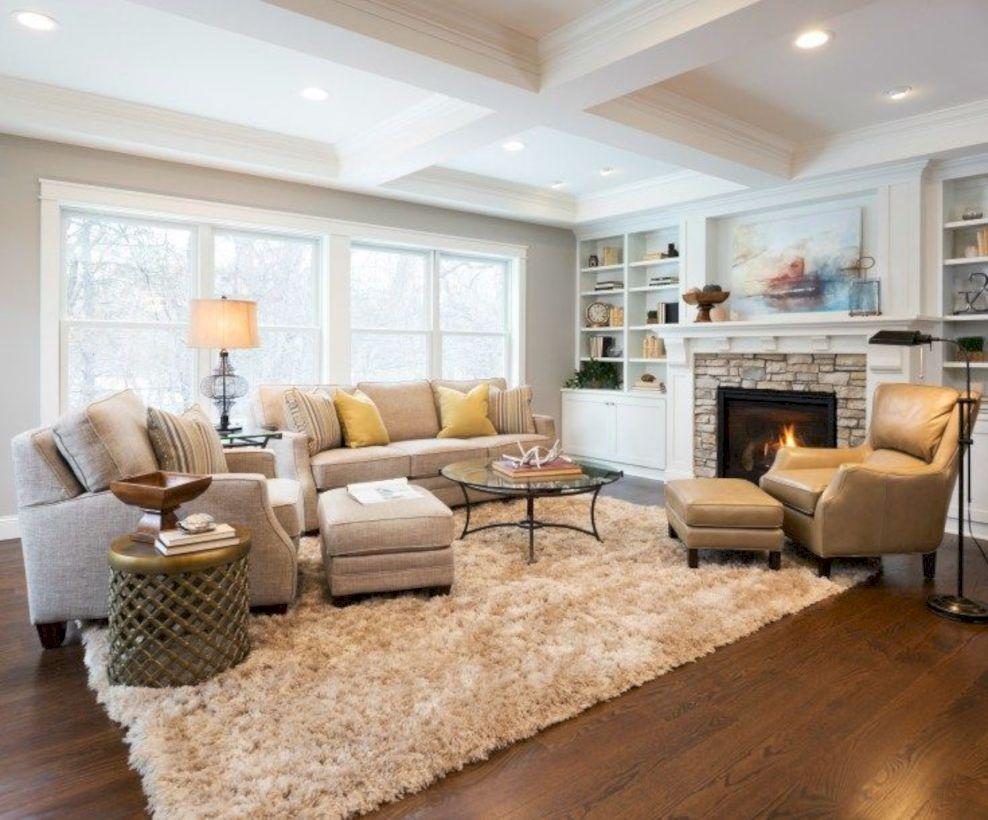 Amazing 35 Inspiring Living Room Ideas With Fireplace Design  Http://gurudecor.com