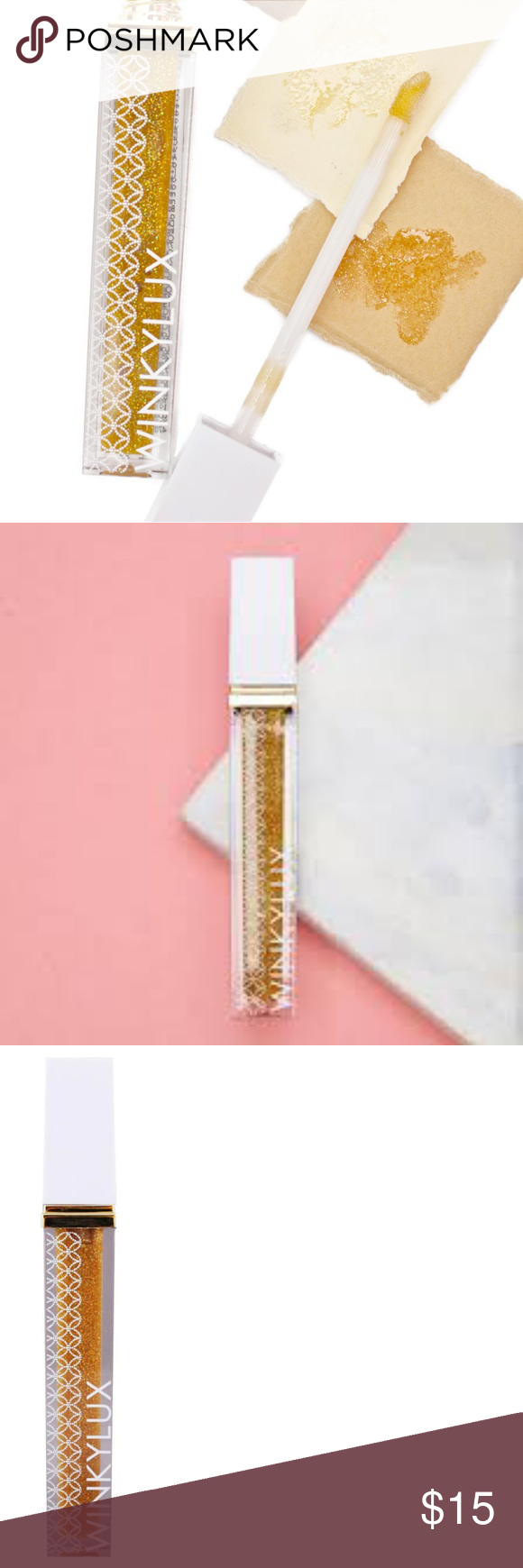 Winky Lux Champagne Fight Glossy Boss NWT Winky Lux