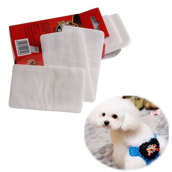 10pcs 1 Pack Pet Disposable Diaper Dog Doggy Cat Diapers Nappy Pads Paper Mat Fri Dog Diapers Dog Diapers Male Pets