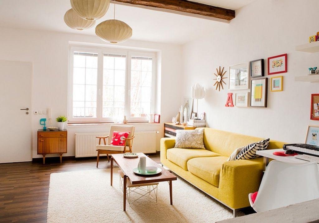 deko ideen fur kleines wohnzimmer wohnzimmer einrichten klein deko ideen gelb sofa set deko