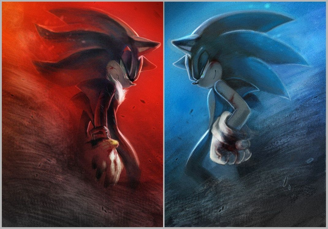 Sonic vs shadow | sonic vs shadow | Pinterest | Sonic ...