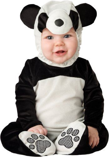 Baby Boy Girl Halloween Panda Fancy Dress Party Costume WARM Outfit Cloth Props
