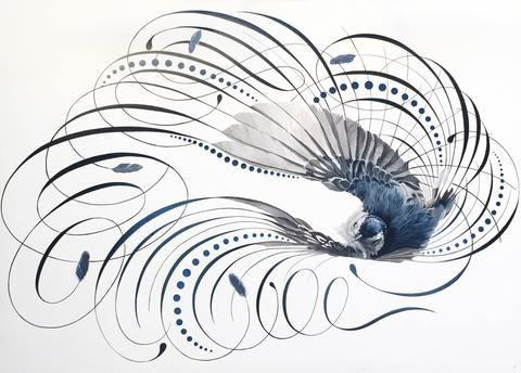 Ascension | Jake Weidmann Artist and Master Penman