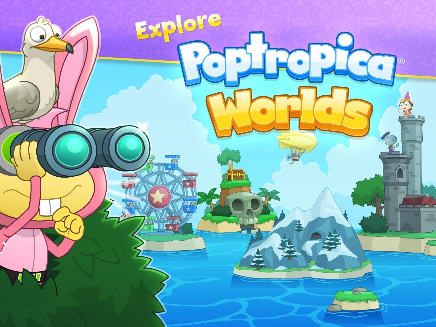 What Does Poptropica Worlds Have In Store For You Bizarre Creatures Cavernous Adventures Big Rewards Find Out Play Now On Mobile Games Apps Fan Art World