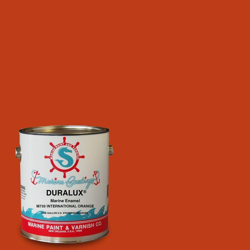 Duralux Marine Paint 1 Gal International Orange Marine