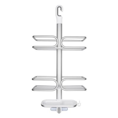 Oxo Good Grips 3 Tier Shower Caddy In Aluminum With Images