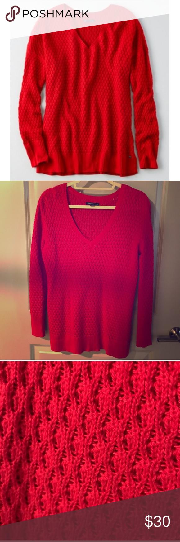 ✨HOST PICK ✨❣ Red Tunic Sweater ❣ | Tunic sweater ...