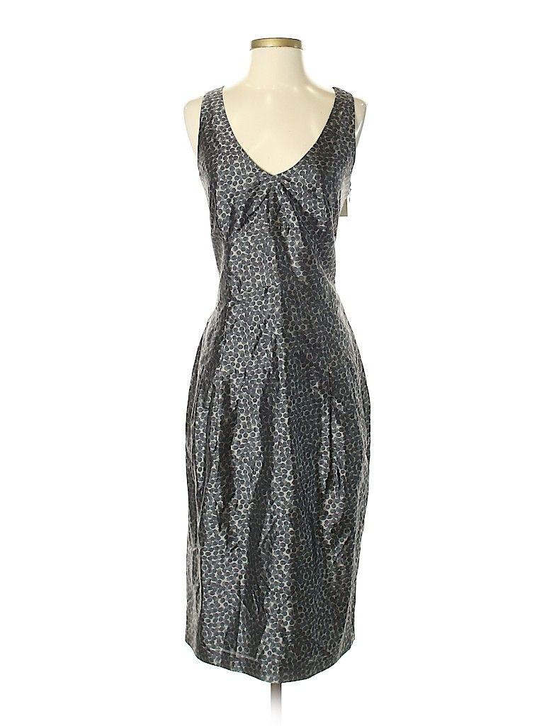 Rene Lezard 100 Silk Animal Print Gray Casual Dress Size 40 It 93 Off Casual Dress Dresses Casual [ 1024 x 768 Pixel ]