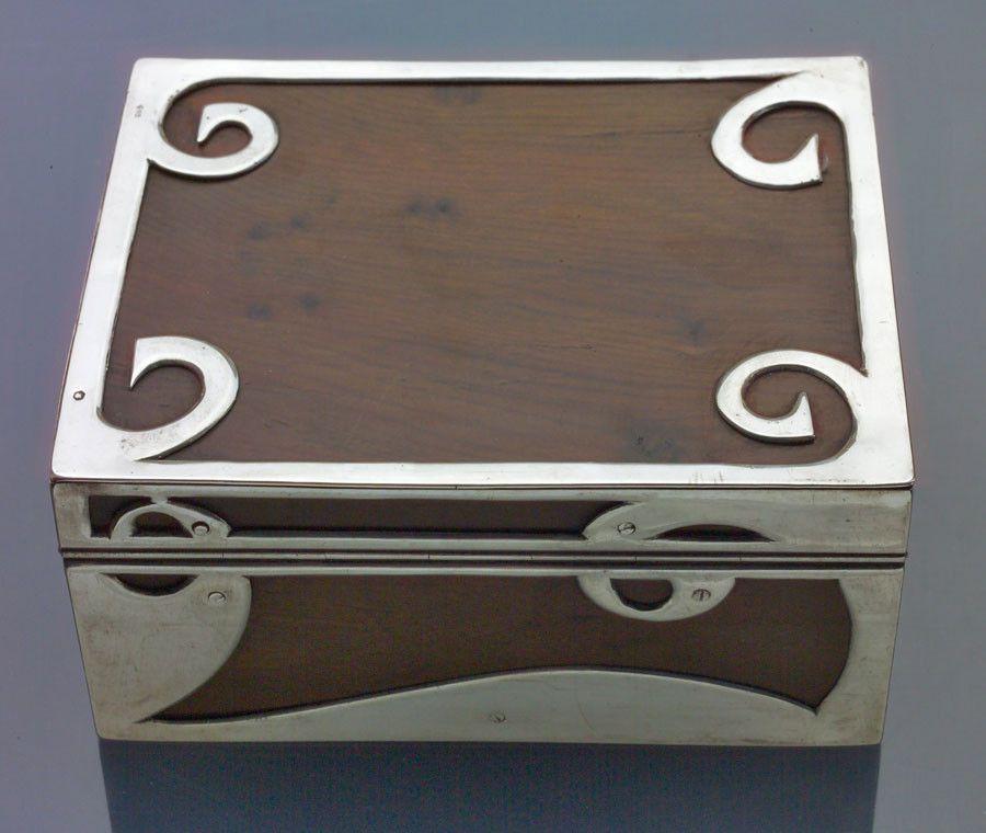 Georg Adam Scheid Vienna Secession Box by JOSEF MARIA AUCHENTALLER - Tadema Gallery