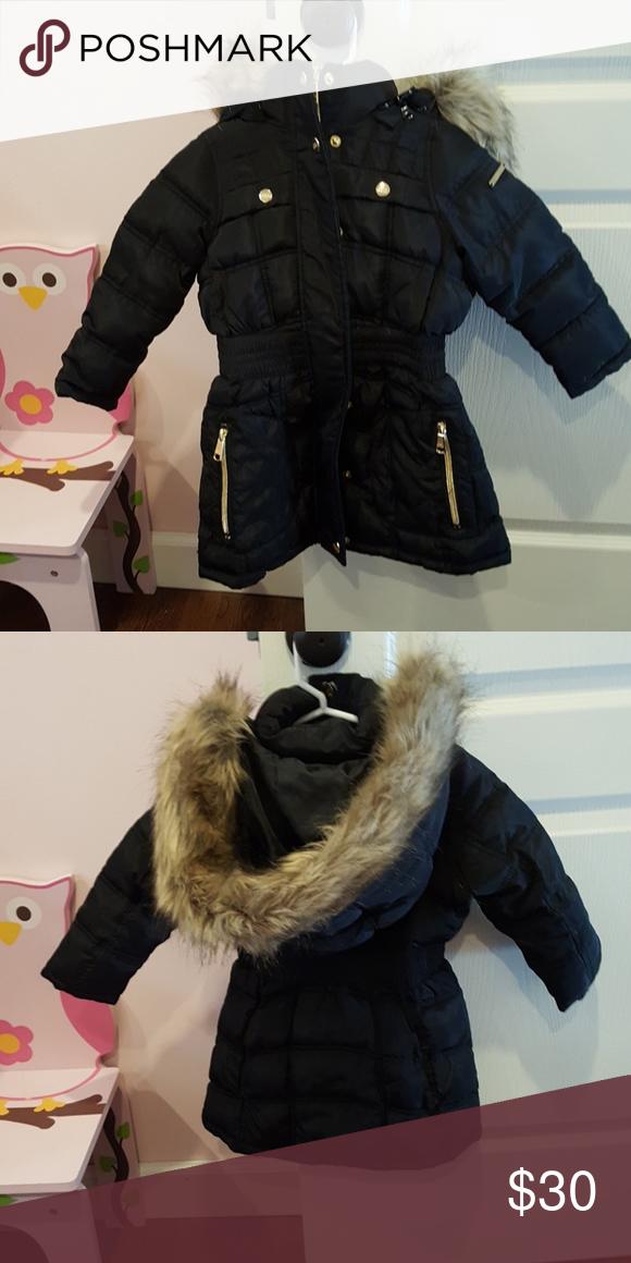 online retailer 54dba 04112 Steve madden girls hooded jacket Steve madden toddler girl ...