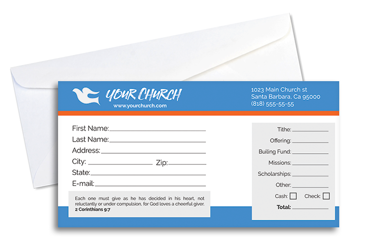 Modern Tithe Envelope  Envelopes Template And Card Ideas