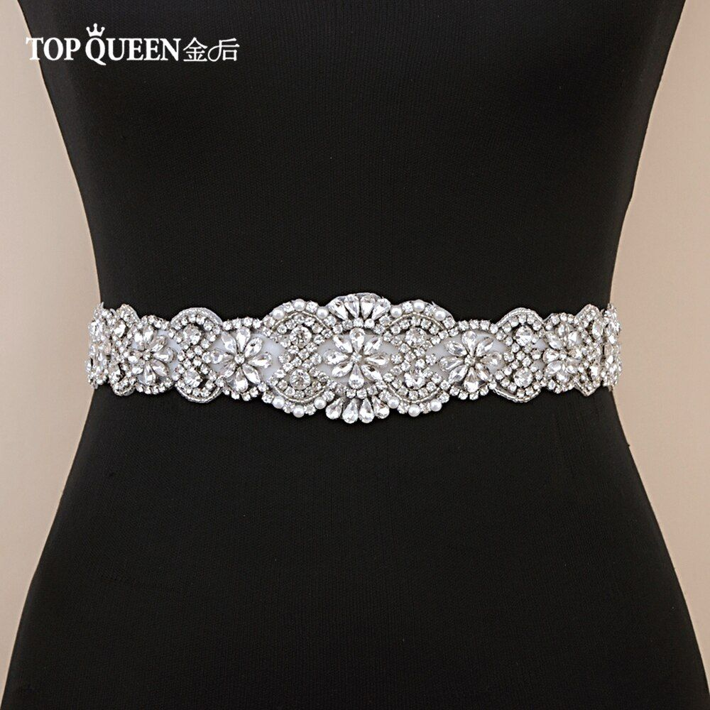 TOPQUEEN S161B Crystal Rhinestones Evening Party Prom