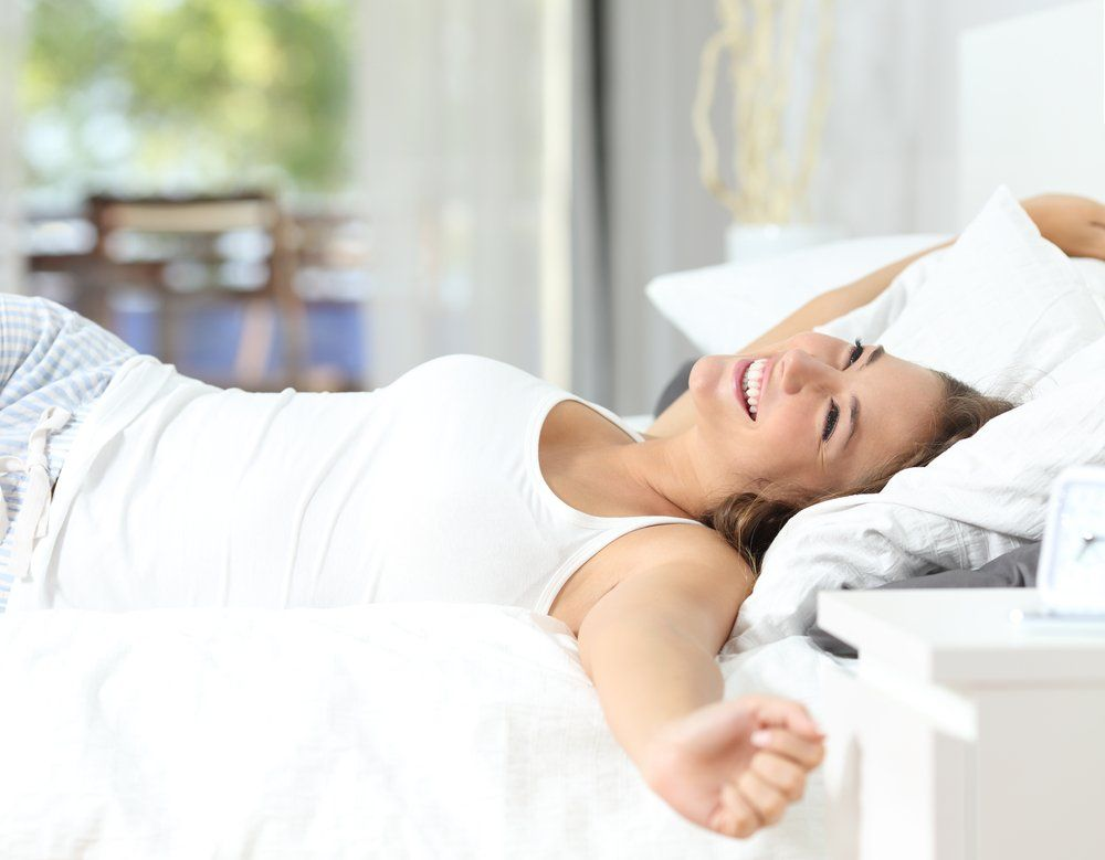 Give yourself at least two weeks to get used to sleeping with a new pillow and allow it to conform to your body!