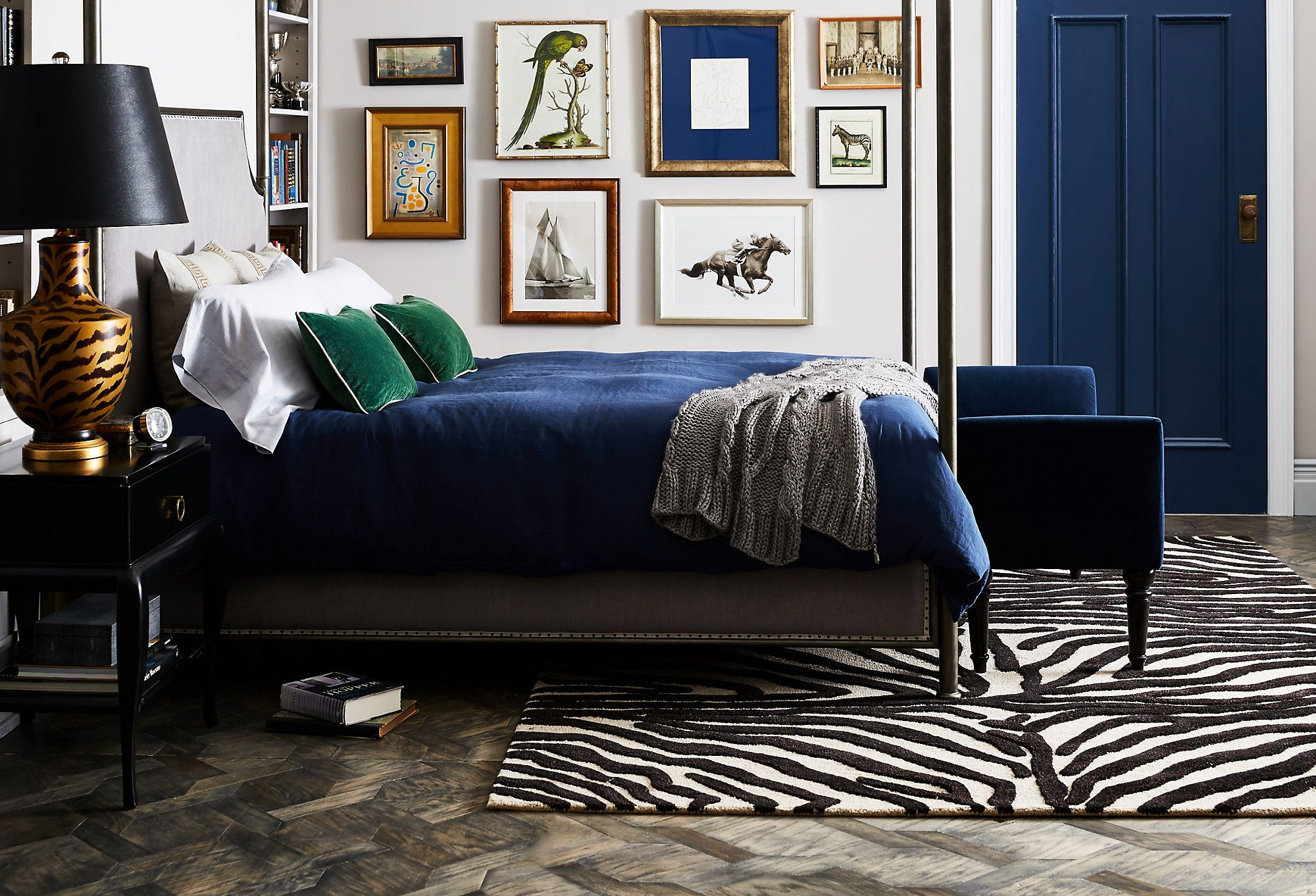 Personal Space: A Cool & Collected Bedroom | home decor | Pinterest ...