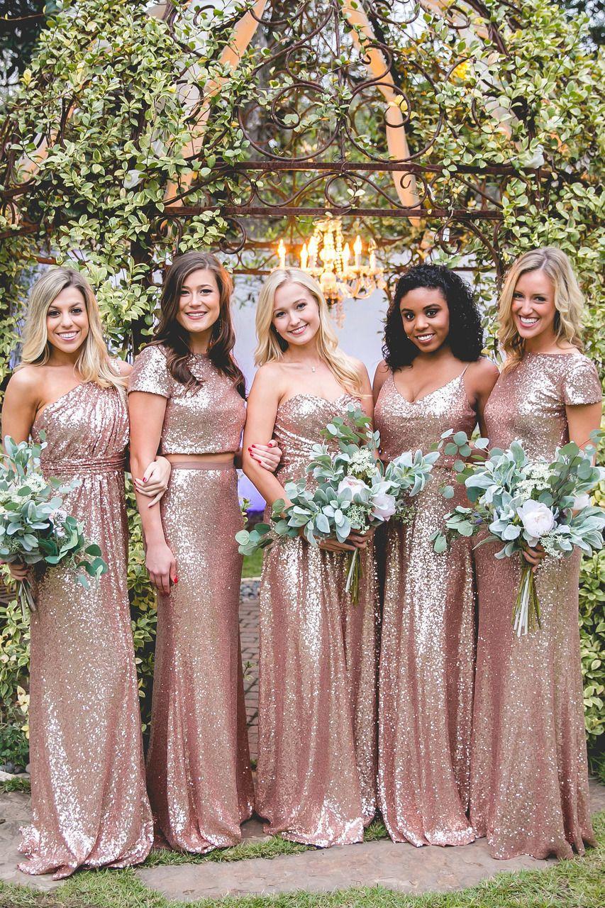 Hazel Sequin Dress Glitter Bridesmaid Dresses Sparkle Bridesmaid Dress Gold Sequin Bridesmaid Dress