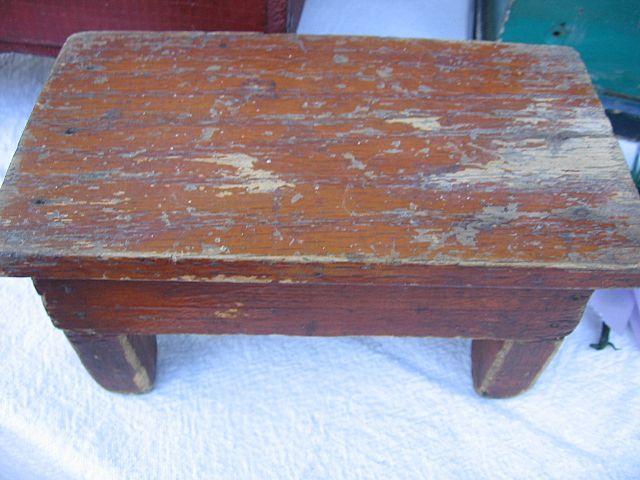 Sensational Unique Miniature Wooden Bench Small Antique Doll Stool Inzonedesignstudio Interior Chair Design Inzonedesignstudiocom