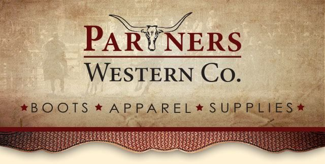 Sign up for special offers and sales!! Subscribe to our email newsletter! #PartnersWestern #WesternWear