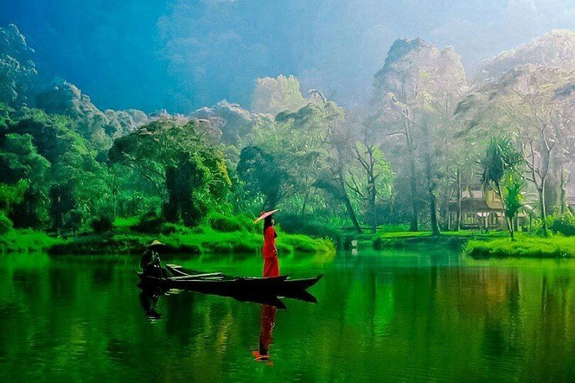 Beautiful Peaceful Nature Pemandangan Indonesia Pintu